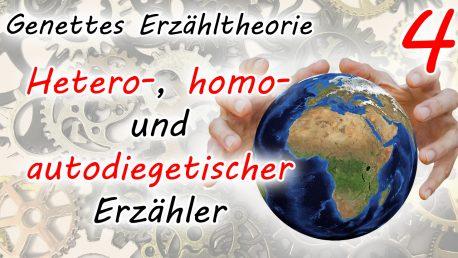 Erzählen in der ersten und dritten Person: Hetero- und homodiegetischer Erzähler