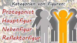 Kategorien von Figuren: Terminologie (Protagonist, Hauptfigur, Nebenfigur, Reflektorfigur)