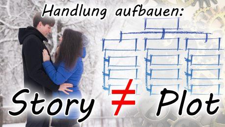 Handlung aufbauen: Story vs. Plot